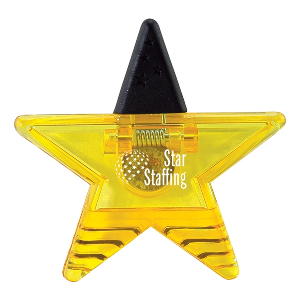 Personalized Magnetic Star Clip