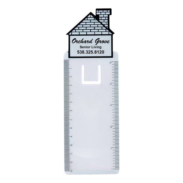 Promotional House Bookmark Magnifier
