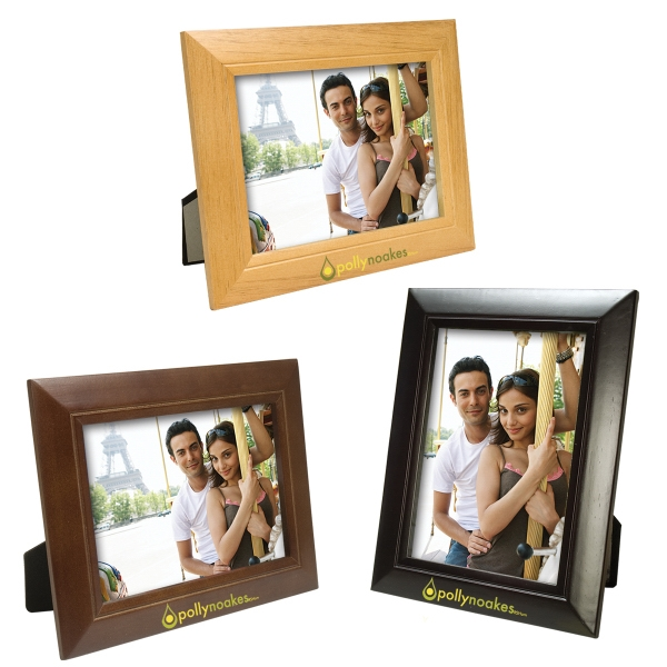 Imprinted 5 x 7 Wood Frame
