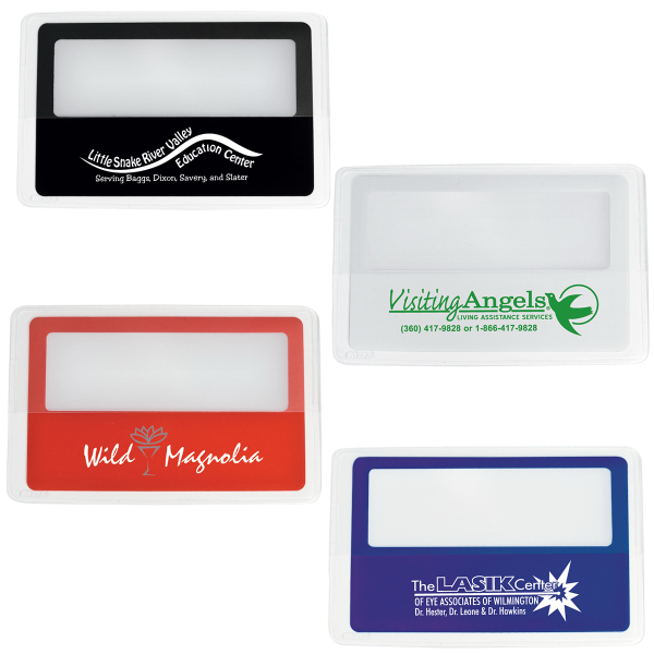 Personalized Credit Card Magnifier