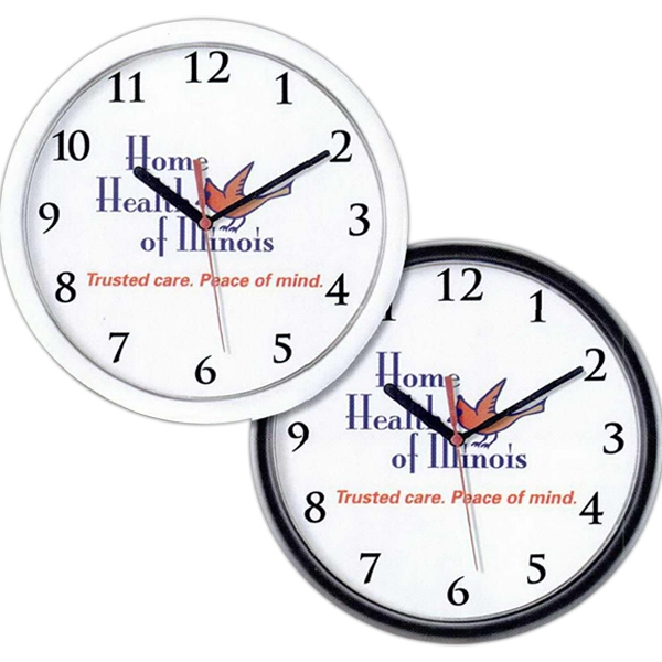 Customized Logo and Photo Wall Clock