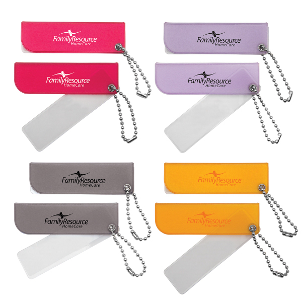 Personalized Key Tag Magnifier
