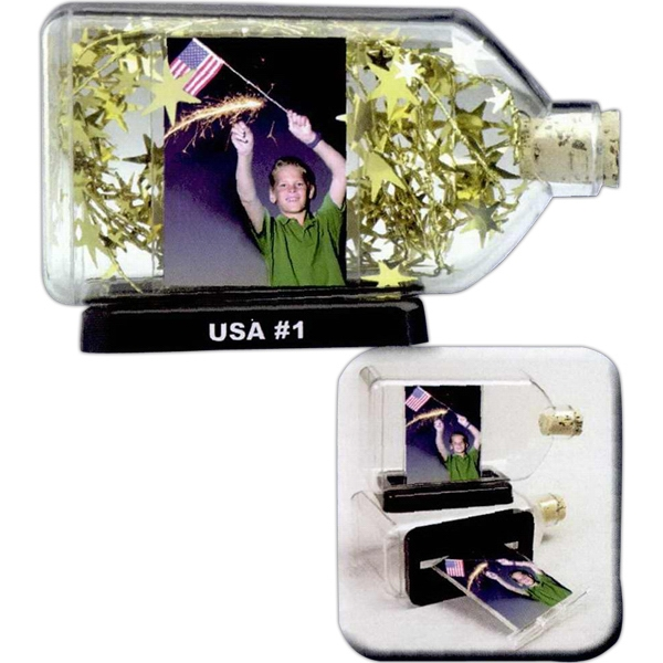 Personalized Photo In a Bottle