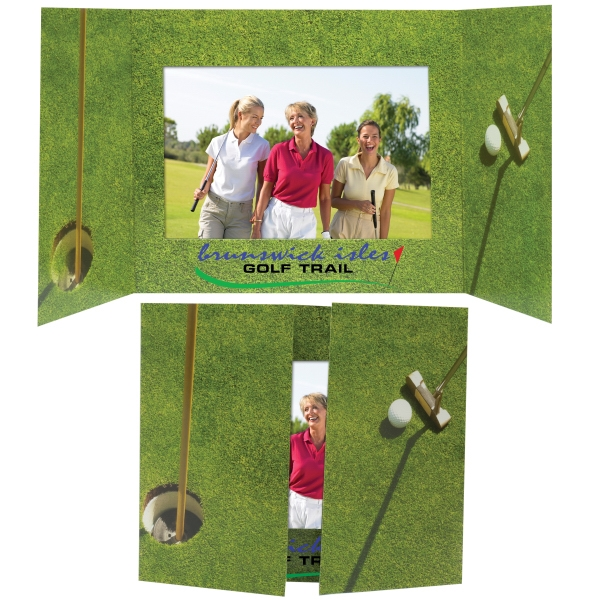 Personalized 6 x 4 Golf Photo Mount