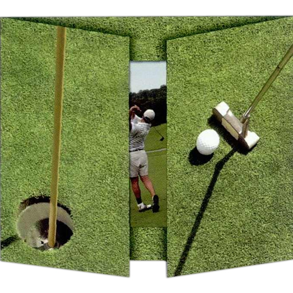 Personalized 7 x 5  Golf Photo Mount