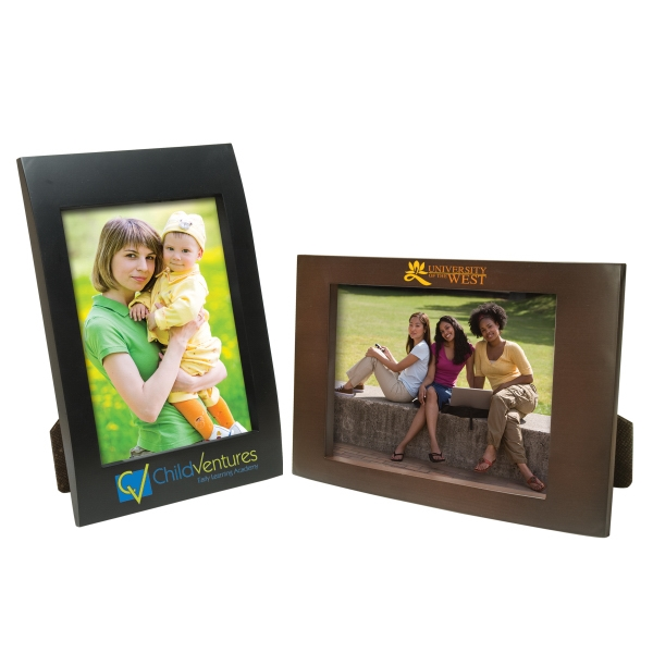 Personalized 4 x 6 Faux Wood Frame