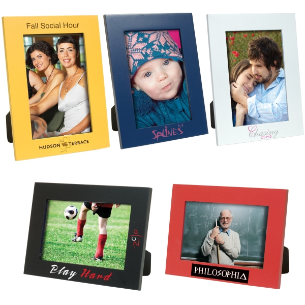 Personalized 4 x 6 Color Plus Frame