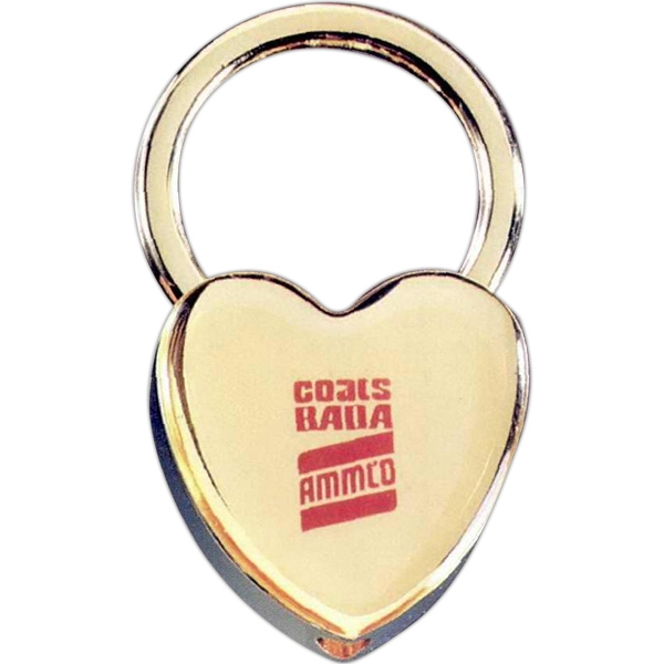 Promotional Heart Key Tag
