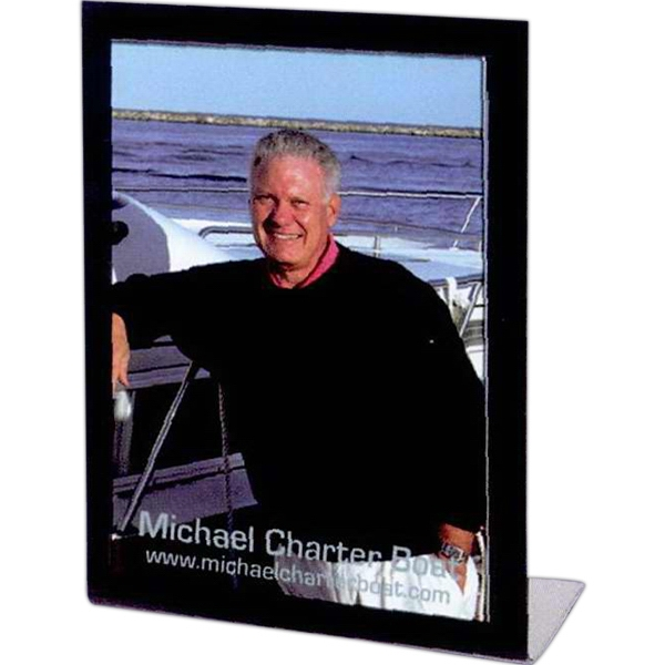 Customized 5 x 7 Black Easel Frame