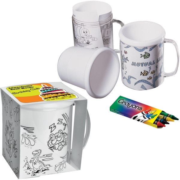 Promotional Snap-In Craft Mug