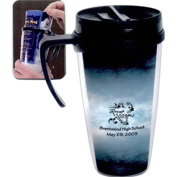 Personalized 12 oz Travel Mug