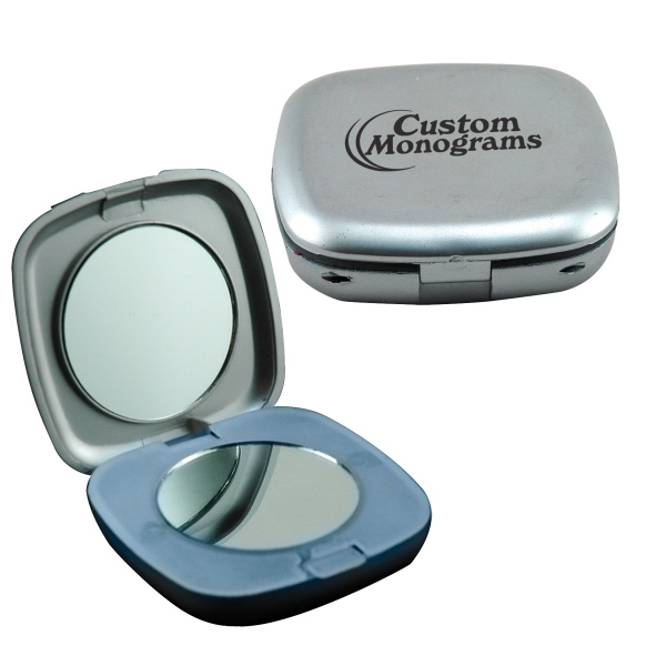 Promotional Illuminated Square Compact Mirror
