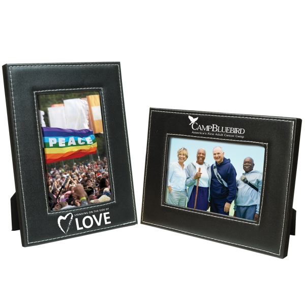 Printed 5 x 7 White Stitch Frame