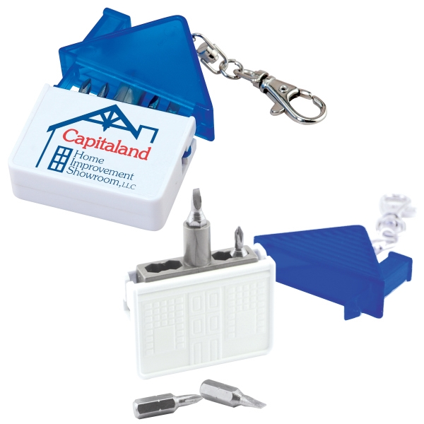 Personalized House Screwdriver Kit
