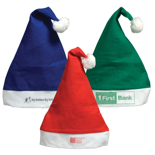 Personalized Felt Santa Hat