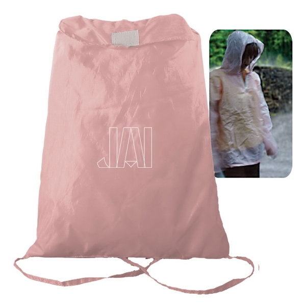 Personalized Fold-N-Go Poncho Pack