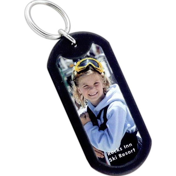 Promotional Photo Dog Key Tag