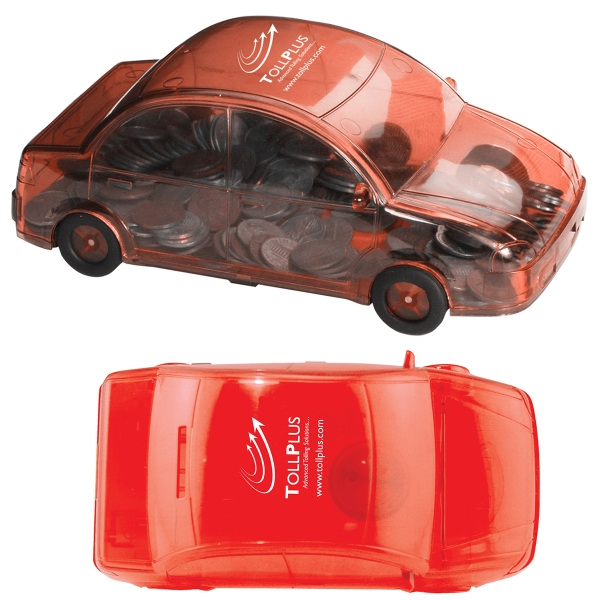 Printed Car Bank