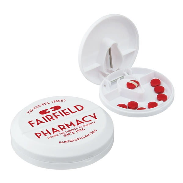 Customized Pill Cutter/Pillbox
