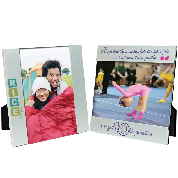 Customized 6 x 4 Aluminum Photo Frame