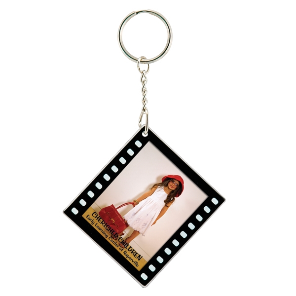 Promotional Filmstrip Snap-In Keytag