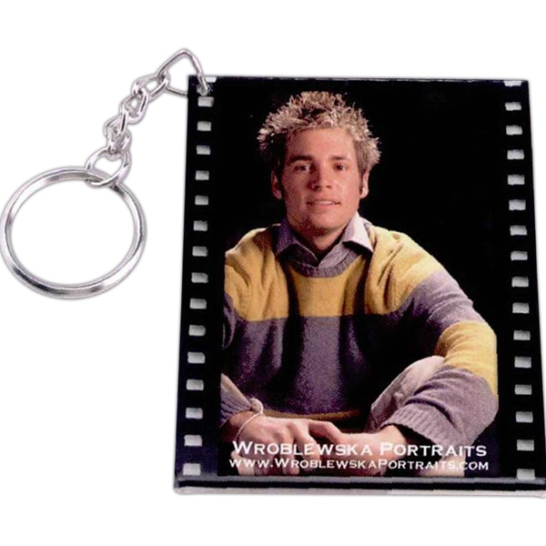 Custom Filmstrip Slip-In Key Tag