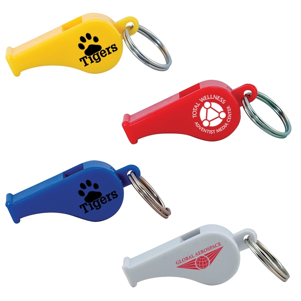 Promotional Whistle Keytag