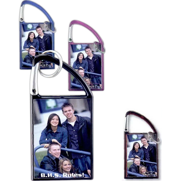 Printed Carabiner Photo Key Tag