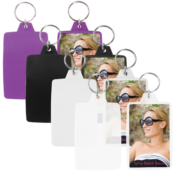 Personalized Snap-In Key Tag
