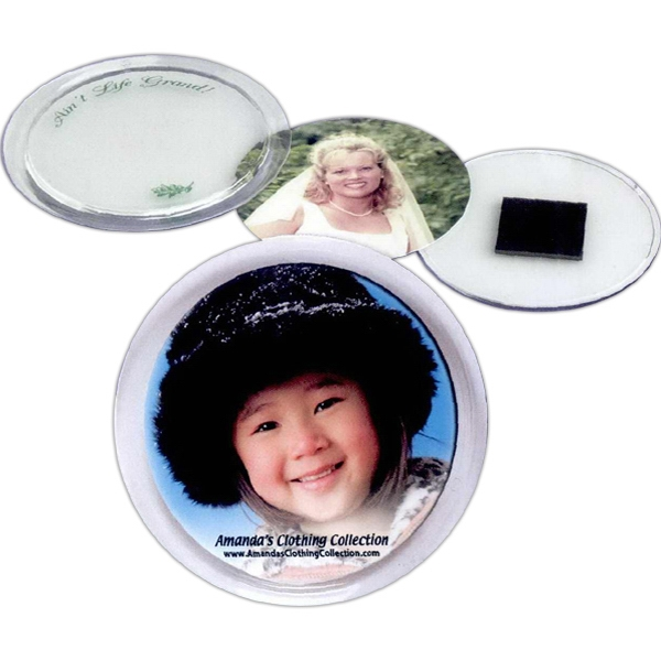 Promotional 2 1/4 Snap-In Magnetic Disc