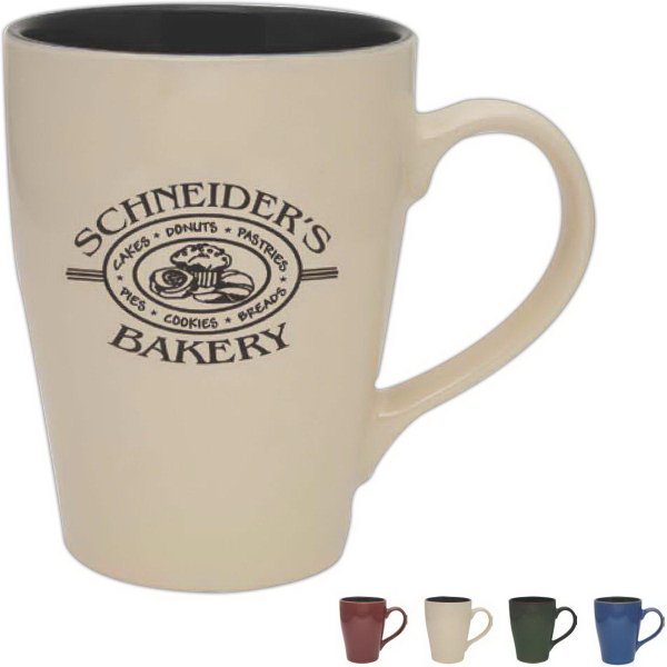 Imprinted Reactive Glaze Sherwood Collection Mug