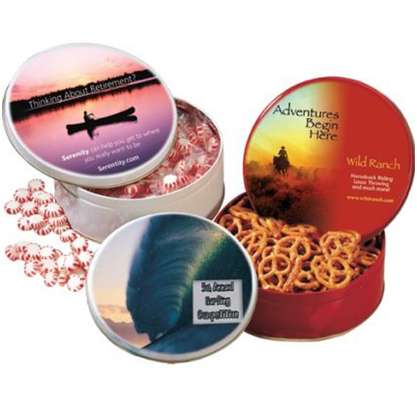 """Personalized 6"""" Tin with Starlight Mints"""