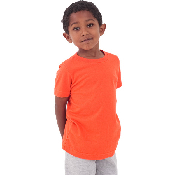 Printed Kids Fine Jersey Short Sleeve T