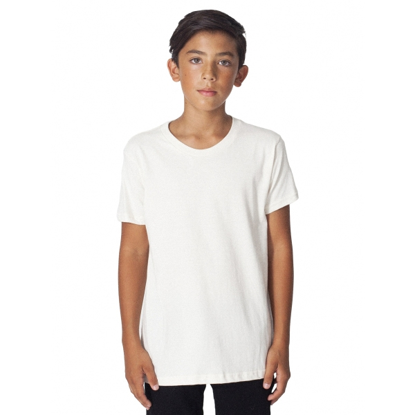 Custom Organic Youth Fine Jersey Short Sleeve T