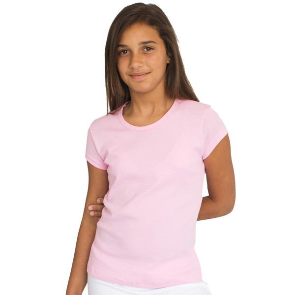 Promotional Youth Baby Rib Cap Sleeve T