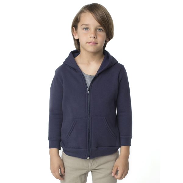 Printed Kids California Fleece Raglan Zip Hoody