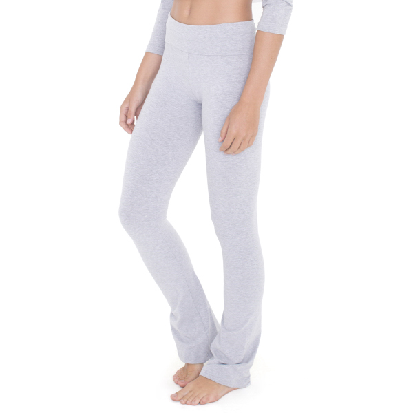 Imprinted Cotton Spandex Jersey Yoga Pant
