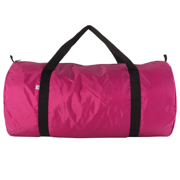 Promotional Nylon Pack Cloth Weekender Duffle Bag