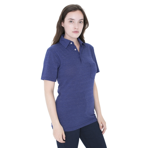 Imprinted Unisex Tri-Blend Short Sleeve Leisure Shirt