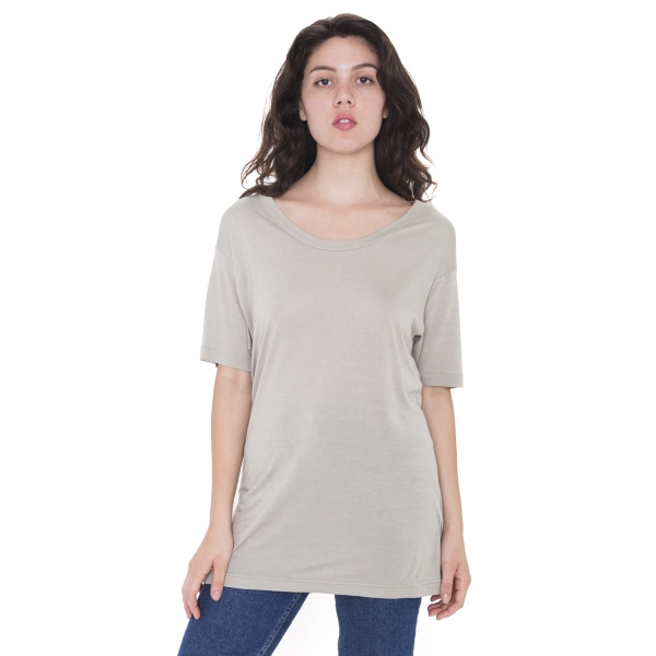 Imprinted Unisex Oversized Viscose T