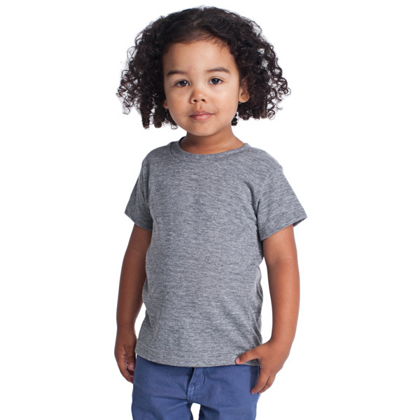 Imprinted Kids Tri-Blend Short Sleeve T