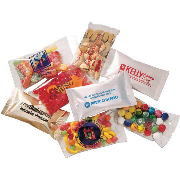 Promotional Bountiful Bag with Gum Balls
