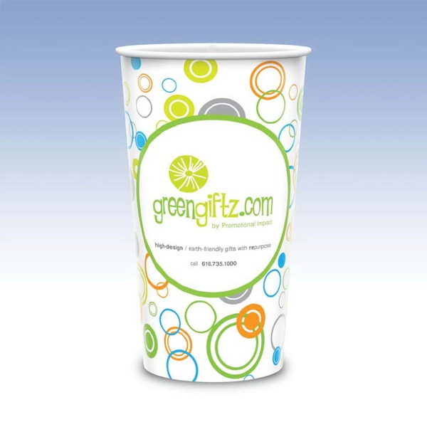 Custom Visstun® 44oz Reusable Wht Plastic Cup-Full Color