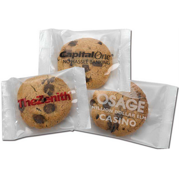 Custom Individually Wrapped Chocolate Chip Cookies