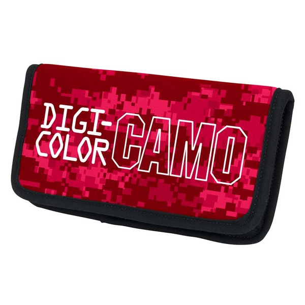 Imprinted Checkbook Cover - Digi Camo