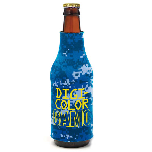 Personalized Bottle Coolie (TM) - Digi Camo