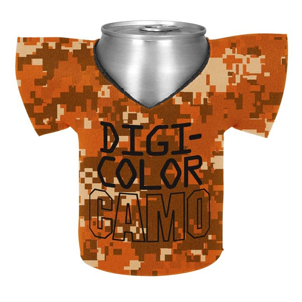 Customized Shirt Coolie  - Digi Camo