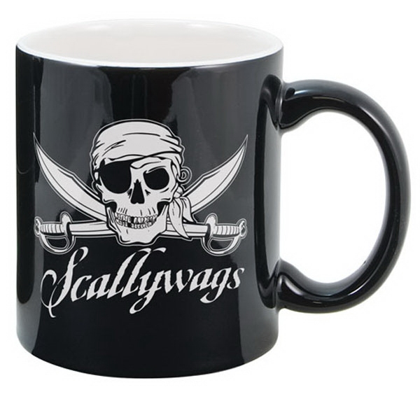 Customized Two Tone Ceramic Mug