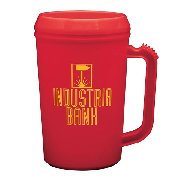 Imprinted 18 oz. Insulated Thermal Mug