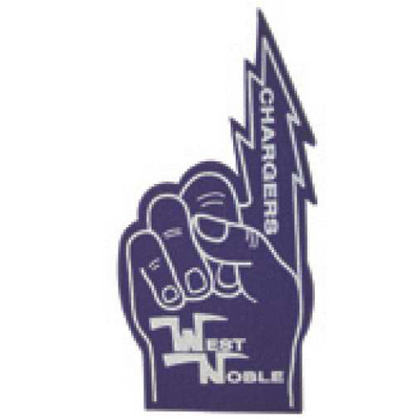 Imprinted Foam Hand Waver